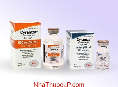 Thuoc Cyramza 10mgmlRamucirumab