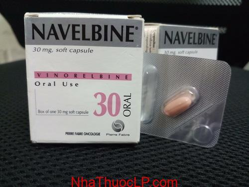 Thuoc Navelbine 30mg Vinorelbine