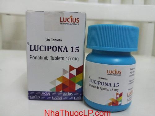 Thuoc Lucipona 15mg Ponatinib