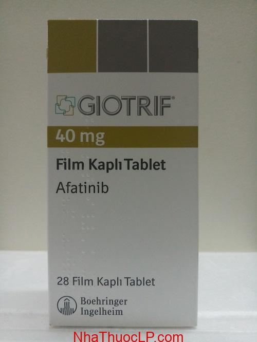 Thuoc Giotrif 40mg Afatinib