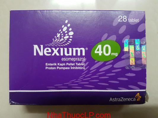 Thuốc Nexium 40mg Esomeprazole điều trị trào ngược dạ dày 1