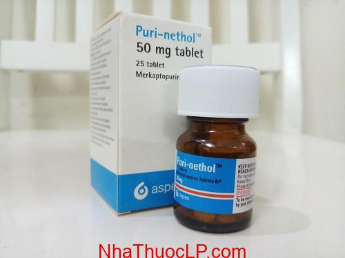 Thuoc PuriNethol 50mg Mercaptoprin