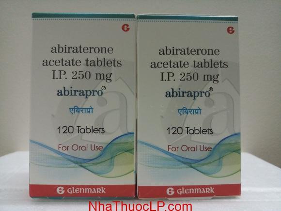 Thuốc Abirapro 250mg Abiraterone điều trị ung thư tuyến tiền liệt (4)