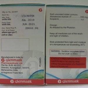 Thuốc Abirapro 250mg Abiraterone điều trị ung thư tuyến tiền liệt (5)