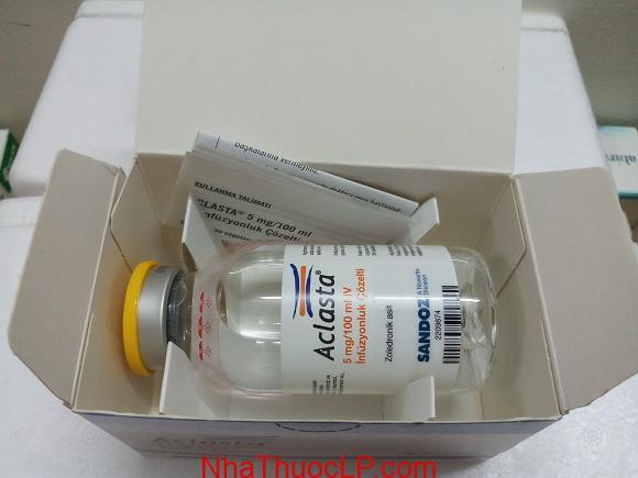 Thuốc Aclasta 5mg/100ml Zoledronic acid điều trị loãng xương (5)