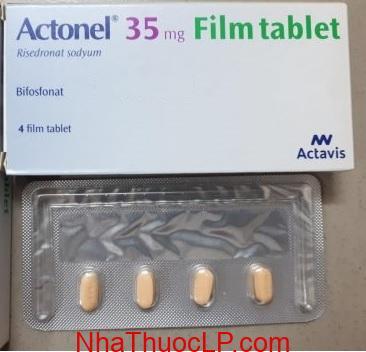 Thuốc Actonel 35mg Risedronate điều trị loãng xương (3)