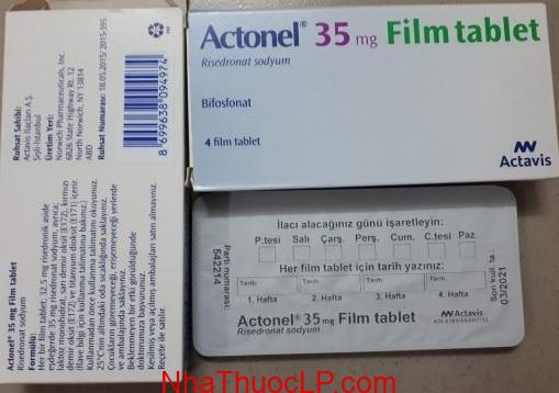Chú ý thận trọng trước khi dùng thuốcActonel