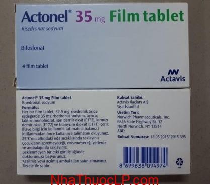 Thuốc Actonel 35mg Risedronate điều trị loãng xương (5)