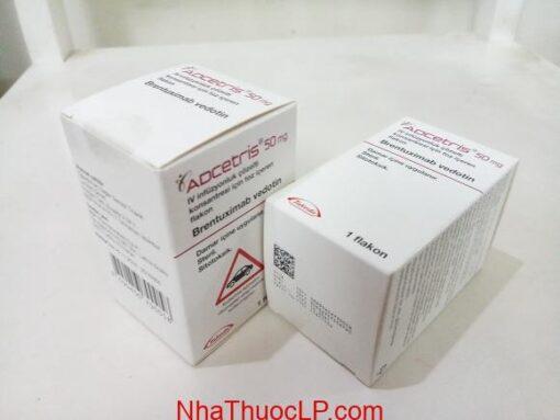 Thuốc Adcetris 50mg Brentuximab điều trị ung thư hạch (4)
