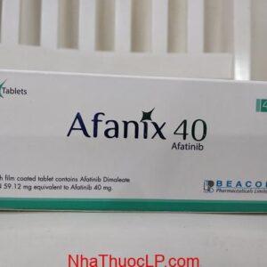 Thuốc Afanix 40mg Afatinib điều trị ung thư phổi không phải tế bào nhỏ (NSCLC) (1)