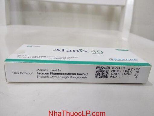 Thuốc Afanix 40mg Afatinib điều trị ung thư phổi không phải tế bào nhỏ (NSCLC) (2)