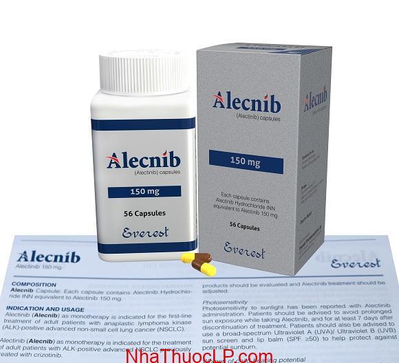 Thuốc Alecnib 150mg Alectinib điều trị ung thư phổi di căn (2)