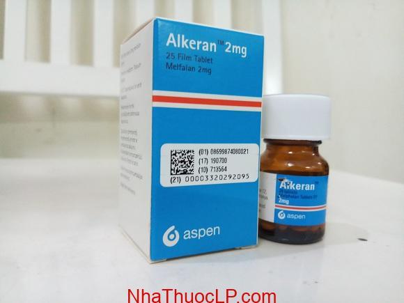 Thuốc Alkeran 2mg Melphalan điều trị ung thư buồng trứng và đau tủy (2)