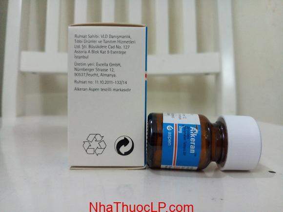 Thuốc Alkeran 2mg Melphalan điều trị ung thư buồng trứng và đau tủy (3)