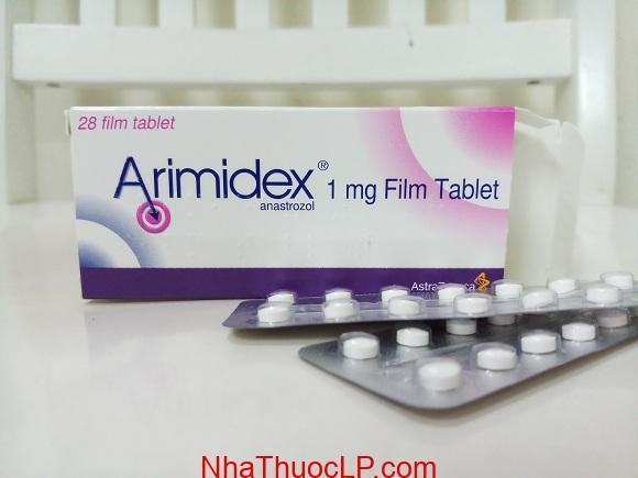 Thuốc Arimidex 1mg Anastrozole điều trị ung thư vú (3)