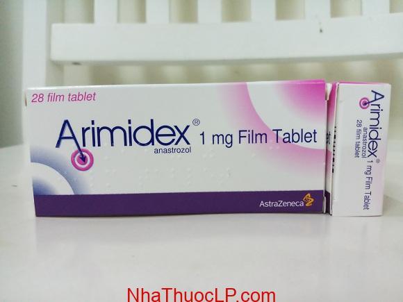 Thuốc Arimidex 1mg Anastrozole điều trị ung thư vú (4)