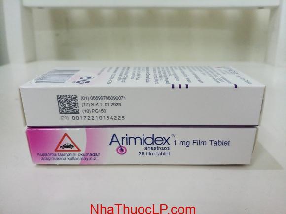 Thuốc Arimidex 1mg Anastrozole điều trị ung thư vú (5)