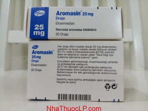 Liều dùng Aromasin