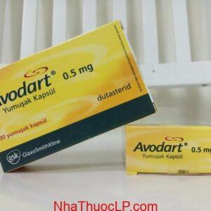 Thuốc Avodart 0.5mg Dutasteride điều trị tăng sản tuyến tiền liệt lành tính (BPH) (1)