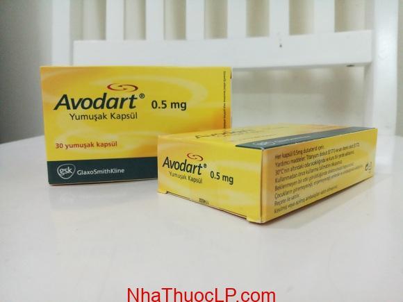 Thuốc Avodart 0.5mg Dutasteride điều trị tăng sản tuyến tiền liệt lành tính (BPH) (3)