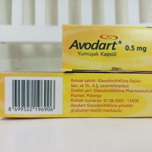 Thuốc Avodart 0.5mg Dutasteride điều trị tăng sản tuyến tiền liệt lành tính (BPH) (4)