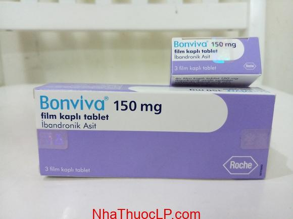 Thuốc Bonviva 150mg Ibandronic điều trị loãng xương hiệu quả (4)