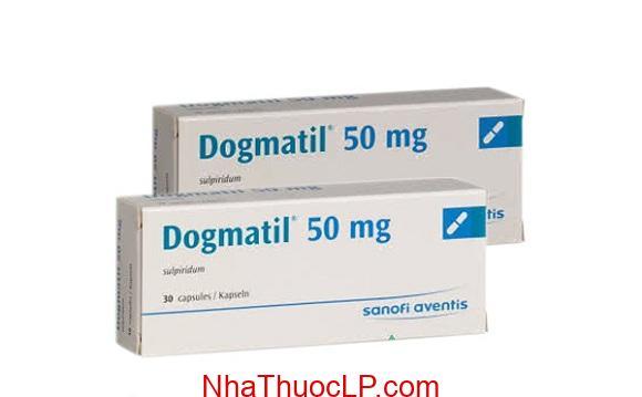 Thuốc Dogmatil 50mg Sulpiride điều trị tâm thần phân liệt, trầm cảm (1)