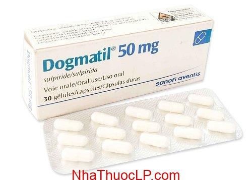 Thuốc Dogmatil 50mg Sulpiride điều trị tâm thần phân liệt, trầm cảm (2)