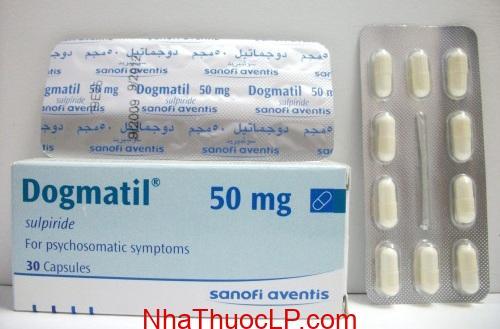 Thuốc Dogmatil 50mg Sulpiride điều trị tâm thần phân liệt, trầm cảm (4)