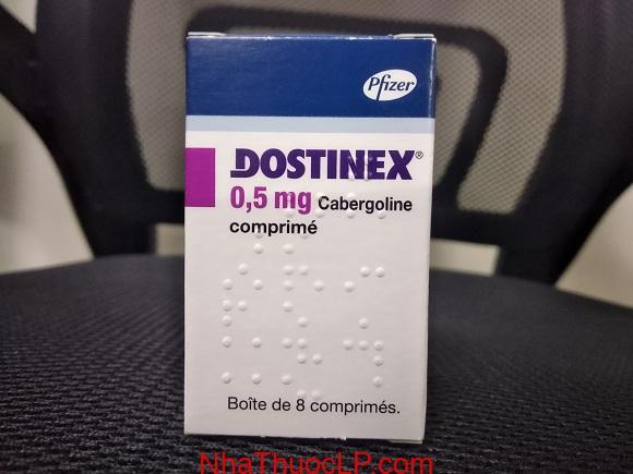 Thuốc Dostinex 0.5mg Cabergoline điều trị mất cân bằng Hormone (1)