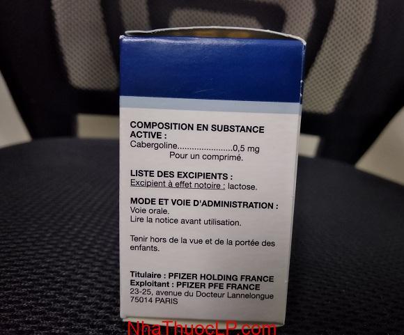 Thuốc Dostinex 0.5mg Cabergoline điều trị mất cân bằng Hormone (5)