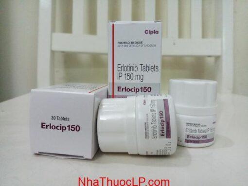 Thuốc Erlocip 150mg Erotinib điều trị ung thư phổi (2)