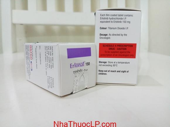 Thuốc Erlonat 150mg Erlotinib điều trị ung thư phổi (5)