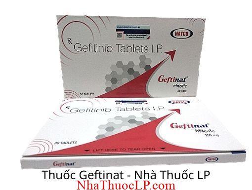 Thuoc Geftinat 250mg Gefitinib
