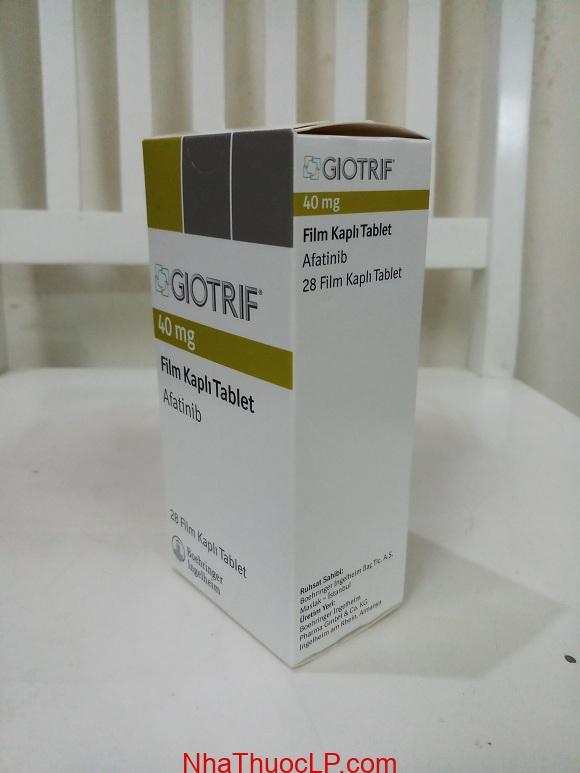 Thuốc Giotrif 40mg Afatinib điều trị ung thư phổi không phải tế bào nhỏ (NSCLC) (2)