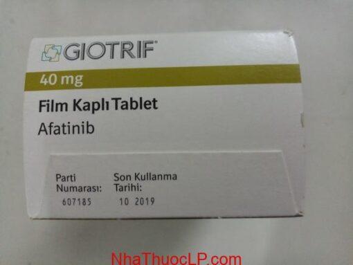Liều dùng Giotrif