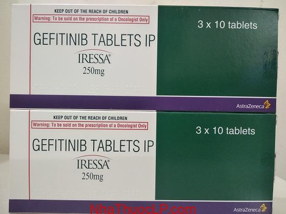 Thuốc Iressa 250mg Gefitinib điều trị ung thư phổi không phải tế bào nhỏ (1)