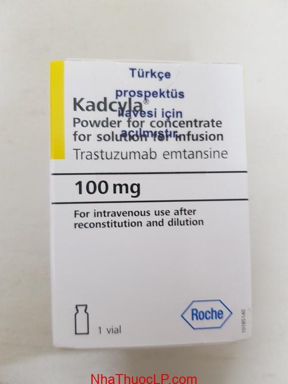 Thuốc Kadcyla 100mg Trastuzumab Emtansine điều trị ung thư vú (2)