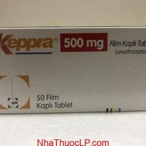 Thuốc Keppra 500mg Levetiracetam chống co giật (động kinh) (1)
