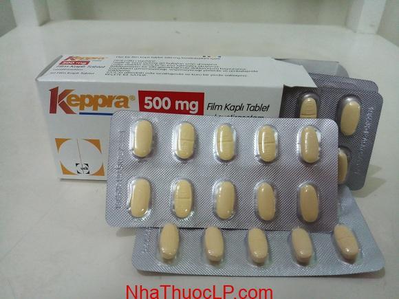 Thuốc Keppra 500mg Levetiracetam chống co giật (động kinh) (3)