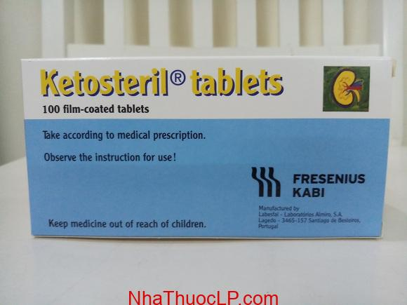 Ketosteril la gi Thong tin co ban ve thuoc methionine