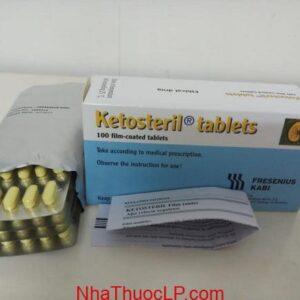 Thuốc Ketosteril 600mg Methionine điều trị bệnh thận mãn tính 3