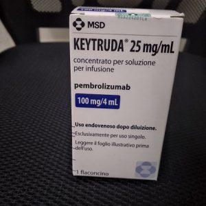 Thuốc Keytruda 100mg/4ml Pembrolizumab điều trị ung thư trúng đích (2)