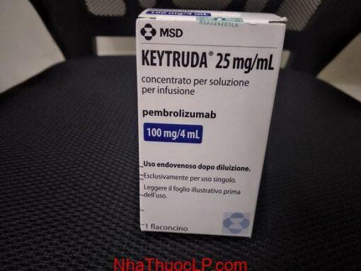 Công dụng và chỉ định Keytruda
