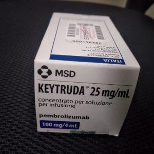 Thuốc Keytruda 100mg/4ml Pembrolizumab điều trị ung thư trúng đích (5)