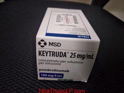 Tác dụng phụ của Keytruda