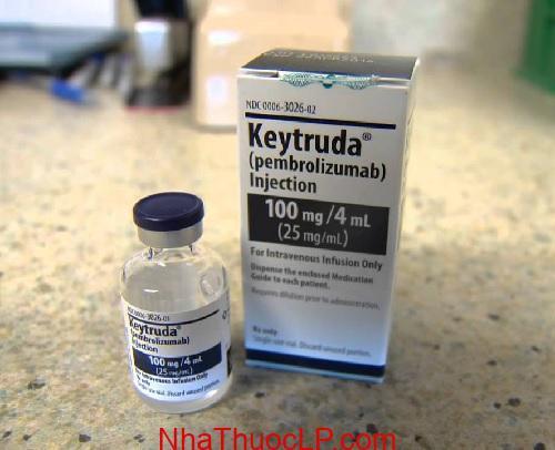 Thuoc Keytruda 100mg 4ml Pembrolizumab