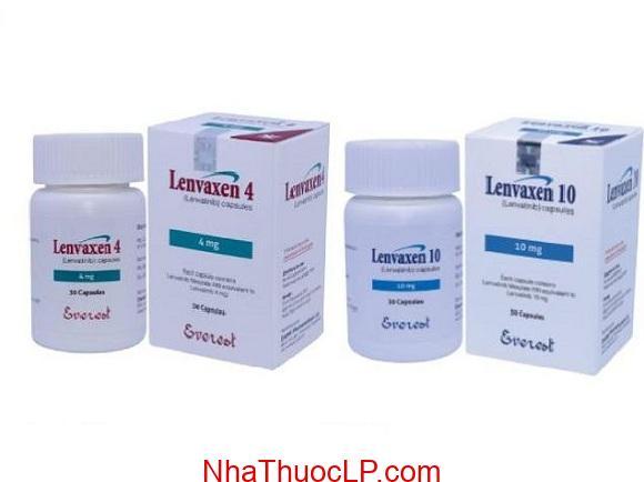 Thuốc Lenvaxen 4mg và 10mg Lenvatinib điều trị ung thư gan (1)