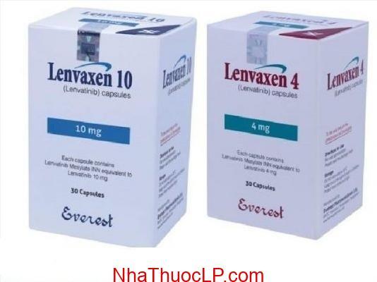 Thuốc Lenvaxen 4mg và 10mg Lenvatinib điều trị ung thư gan (2)