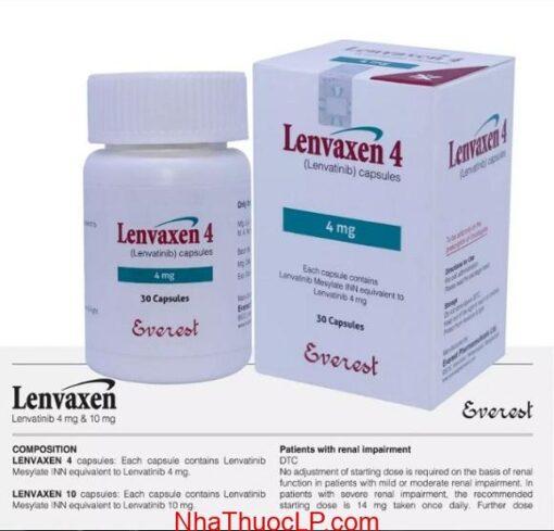 Liều dùng Lenvaxen